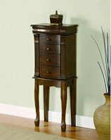 Maple Jewelry Armoire