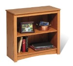 Oak 2-shelf Bookcase By Prepac