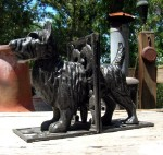 Vintage Scottish Terrier Bookends - Set Of Two