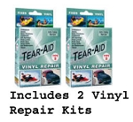 Vinyl Repair Tape Kit Repair Patches Set Of Two Boxes