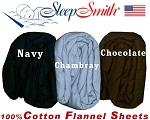 Short Queen Size Extra Deep Flannel Sheet Sets