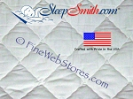Expanded Queen Size Quilted Mattress Pad