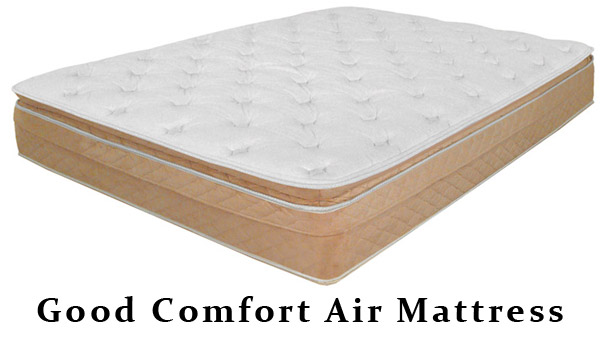 Twin Size Good Comfort Air Mattress With Single Air Chamber