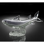 Shark Art Glass