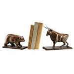 Bear And Bull Bookends