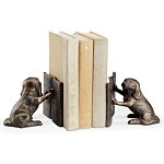 Reading Dog Bookends