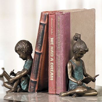 Boy And Girl Bookends
