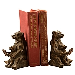 Reading Bear Bookends
