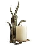 Seahorse Wall Mounted Candle Holder