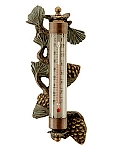 Pinecone Wall Mounted Thermometer