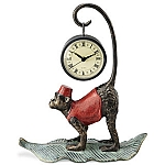 Monkey Tabletop Clock