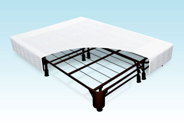 Steel Box Spring Replacement Eastern King Size Frame Replacement With Free Cloth Cover