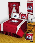 Colorado Avalanche Sidelines Bedding Collection