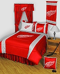 Detroit Red Wings Sidelines Bedding Collection