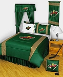 Minnesota Wild Sidelines Bedding Collection
