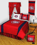 Montreal Canadiens Sidelines Bedding Collection