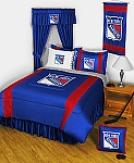 New York Rangers Sidelines Bedding Collection