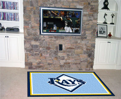 Tampa bay rays area rug Home decor tampa