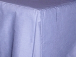 3/4 Three Quarter Blue Tailored Dustruffle Bedskirt