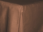 3/4 Three Quarter Copper Tailored Dustruffle Bedskirt