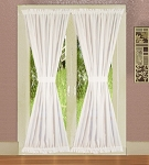 White French Door Curtains