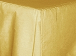 Baby Crib Gold Tailored Dustruffle Bedskirt