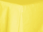 Baby Crib Lemon Yellow Tailored Dustruffle Bedskirt