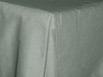 3/4 Three Quarter Medium Gray Tailored Dustruffle Bedskirt