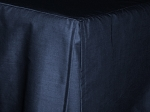 3/4 Three Quarter Navy Blue Tailored Dustruffle Bedskirt