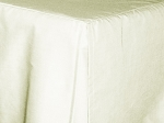3/4 Three Quarter Off White Tailored Dustruffle Bedskirt