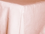 Baby Crib Pink Tailored Dustruffle Bedskirt