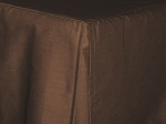 Queen Brown Tan Tailored Dustruffle Bedskirt