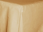 3/4 Three Quarter Beige Tan Tailored Dustruffle Bedskirt