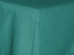 3/4 Three Quarter Teal Tailored Dustruffle Bedskirt