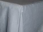 3/4 Three Quarter Wedgewood Blue Tailored Dustruffle Bedskirt