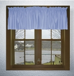 Caribbean Blue Window Valances