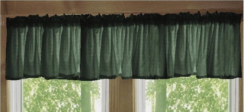 Anderson Windows Reviews >> Dark Forest Green Window Valance