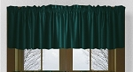 Dark Teal Window Valance