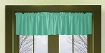 Jade Green Window Valance