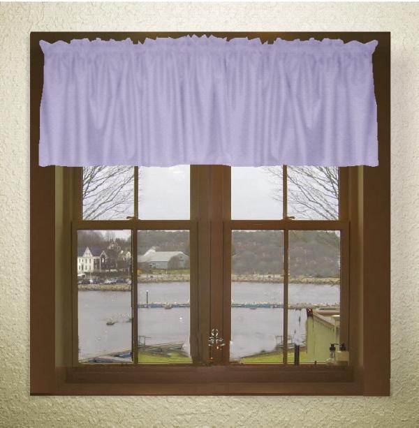 Lilac Purple Window Valances
