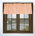 Peach Apricot Window Valances