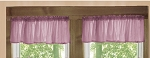 Powder Plum Window Valance