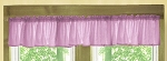 Violet Purple Window Valance