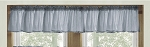 Wedgewood Blue Window Valance