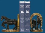 Horse And Horseshoe Bookends