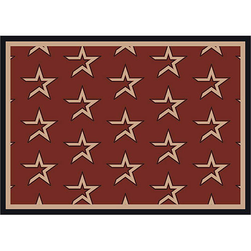 Houston Astros Repeat Logo Area Rug