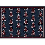 Los Angeles Angels Repeat Logo Area Rug