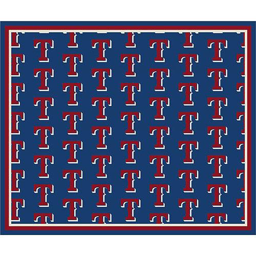 Texas Rangers Repeat Logo Area Rug