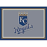 Kansas City Royals Team Logo Area Rug