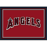 Los Angeles Angels Team Logo Area Rug